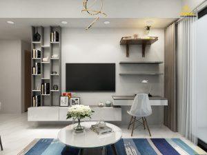 Thiết kế nội thất căn hộ Masteri An Phú 74m2