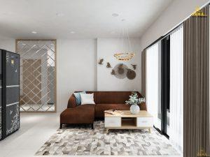 Thiết kế nội thất căn hộ Heaven Riverview Quận 8