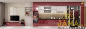 Thiết kế thi công nội thất căn hộ Carina Plaza Q8   JAMA Decor