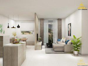 Thiết kế căn hộ Millennium Masteri Q4