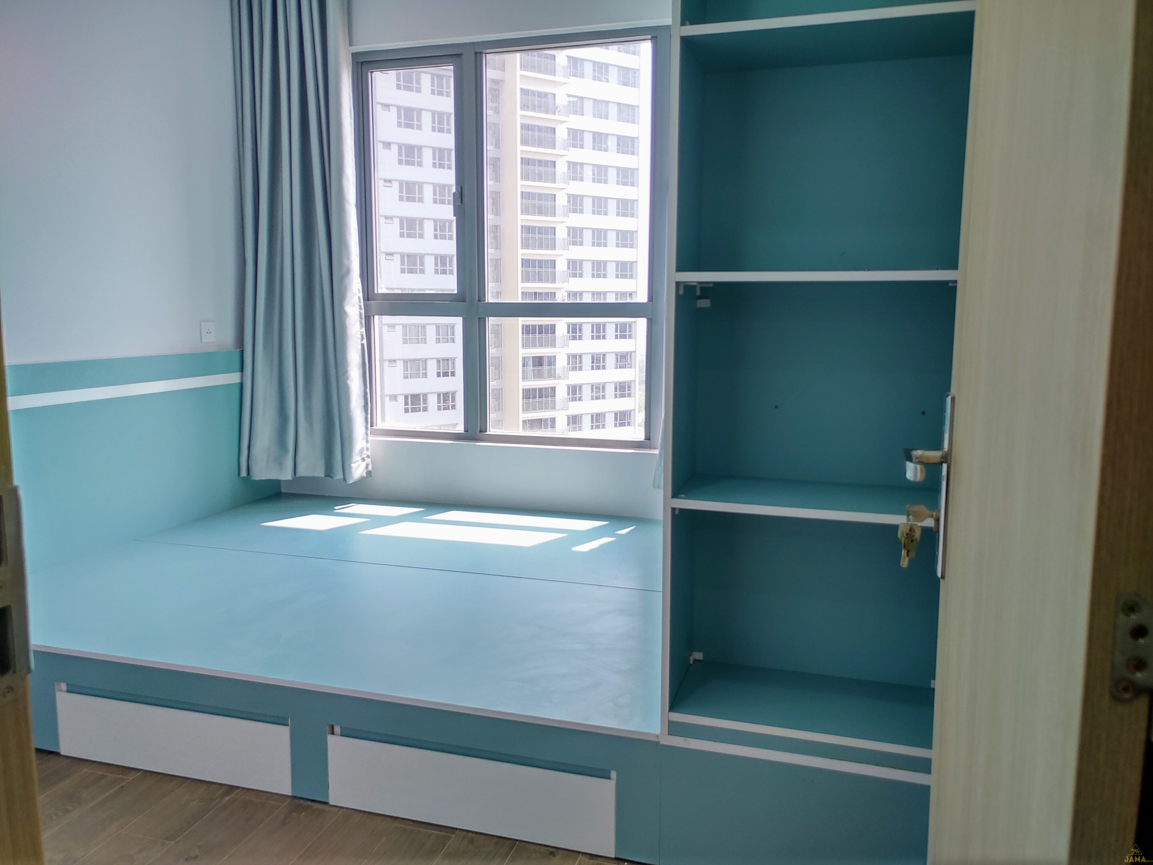Hình ảnh nghiệm thu thực tế căn hộ Palm Heights.
