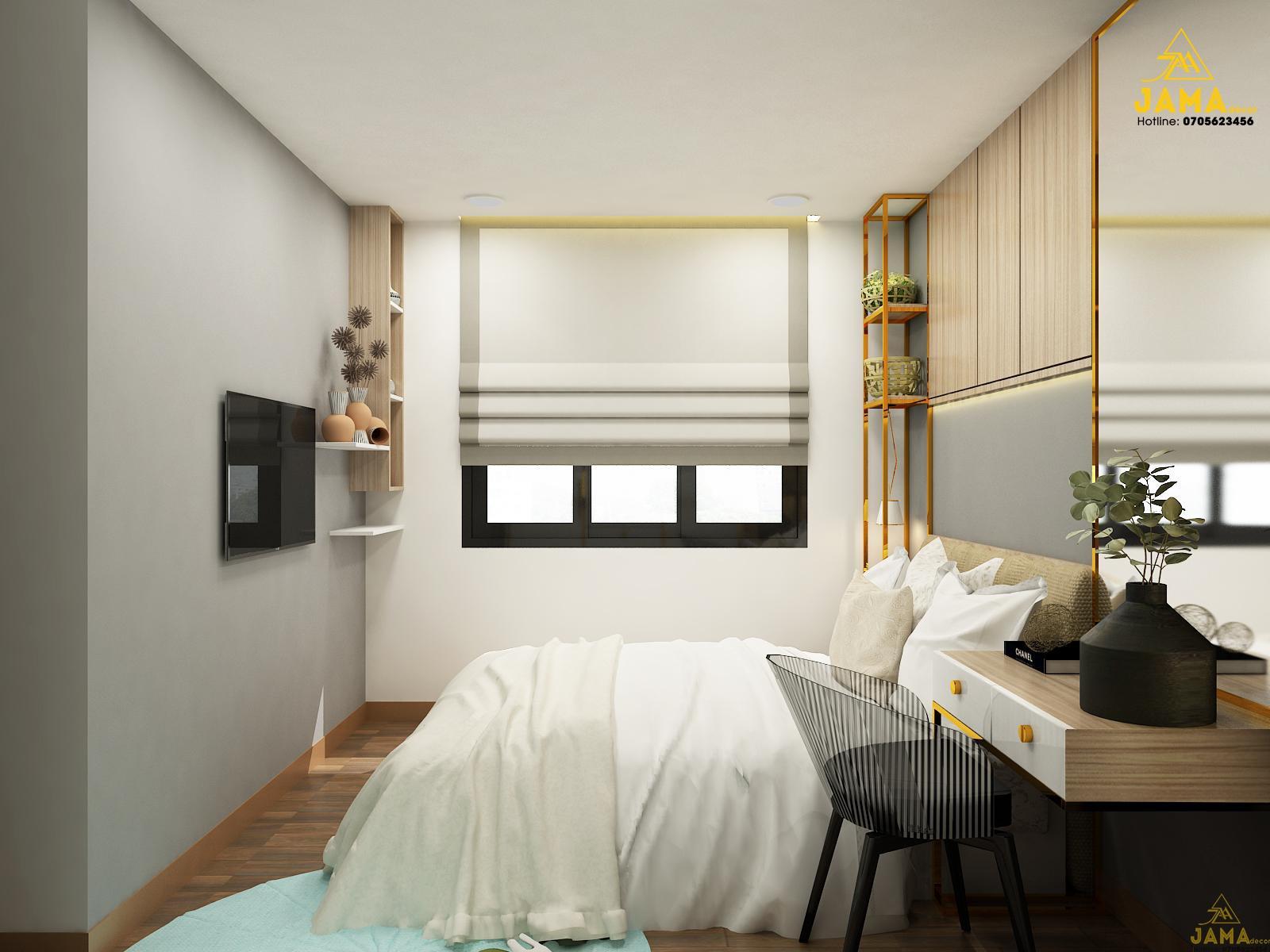 Thiết kế nội thất phòng khách căn hộ Celadon City