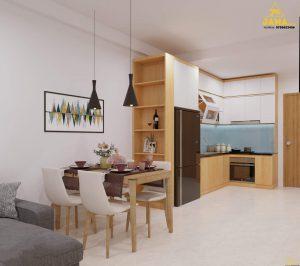 Thiết kế thi công căn hộ Sài Gòn Gateway 2 phòng ngủ - Ảnh: JAMA