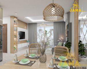Nội thất căn hộ Gateway Vũng Tàu 2 phòng ngủ   Nội Thất JAMA