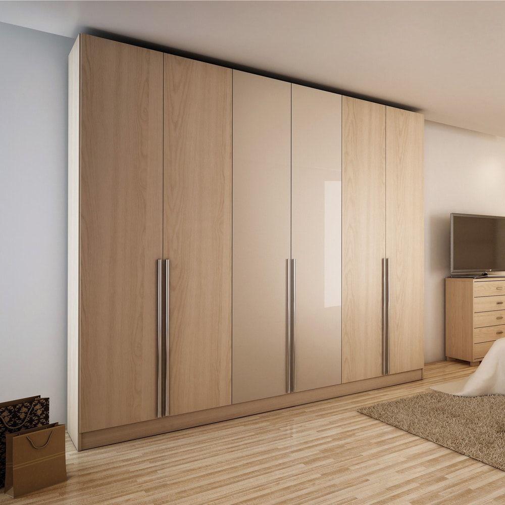 30+ Mẫu tủ quần áo gỗ công nghiệp MDF, MFC, HDF đẹp giá xưởng